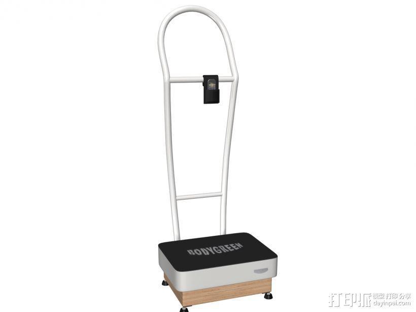 健身器材1 3D模型  图1