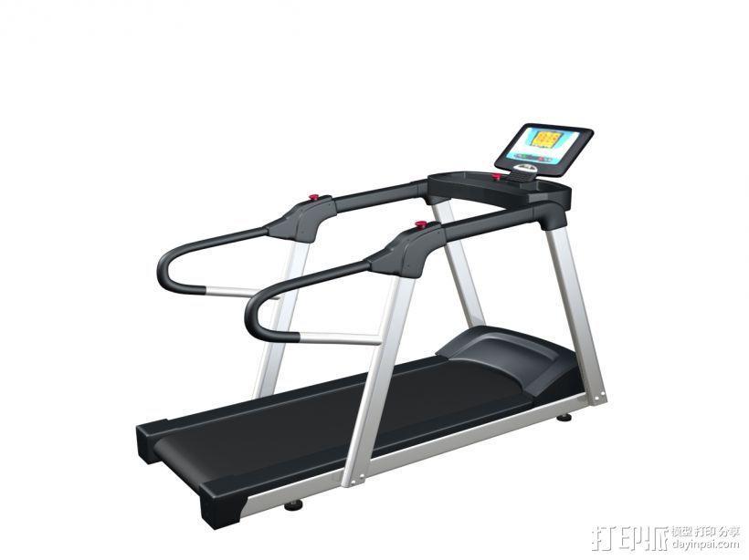 健身器材2 3D模型  图1