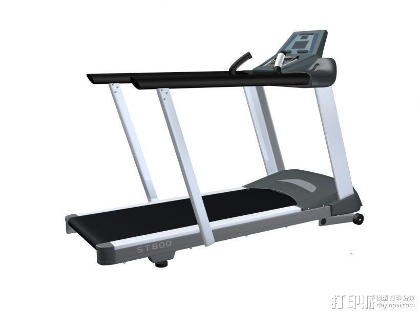 健身器材4 3D模型  图1