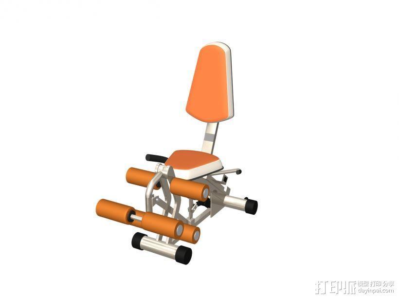 健身器材6 3D模型  图1