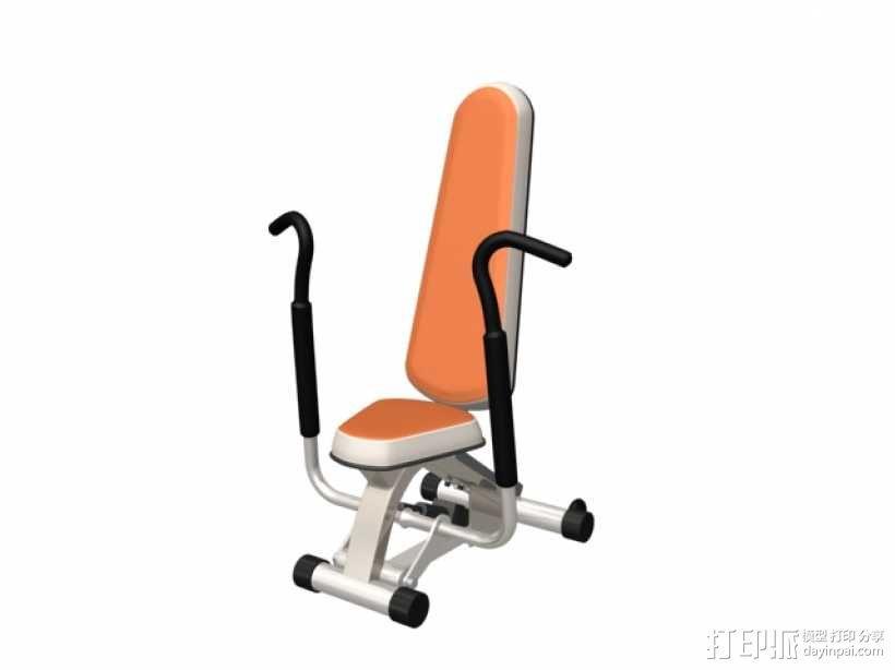 健身器材 3D模型  图1
