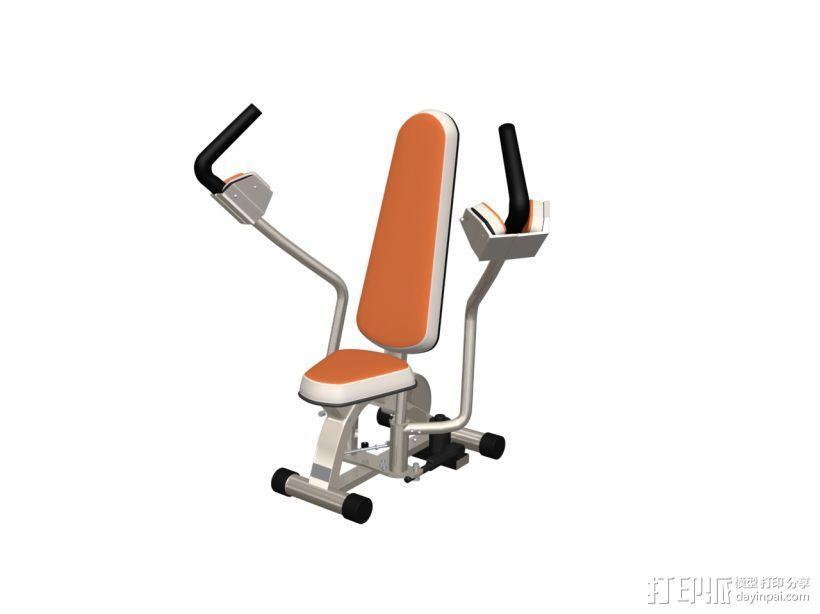 健身器材8 3D模型  图1