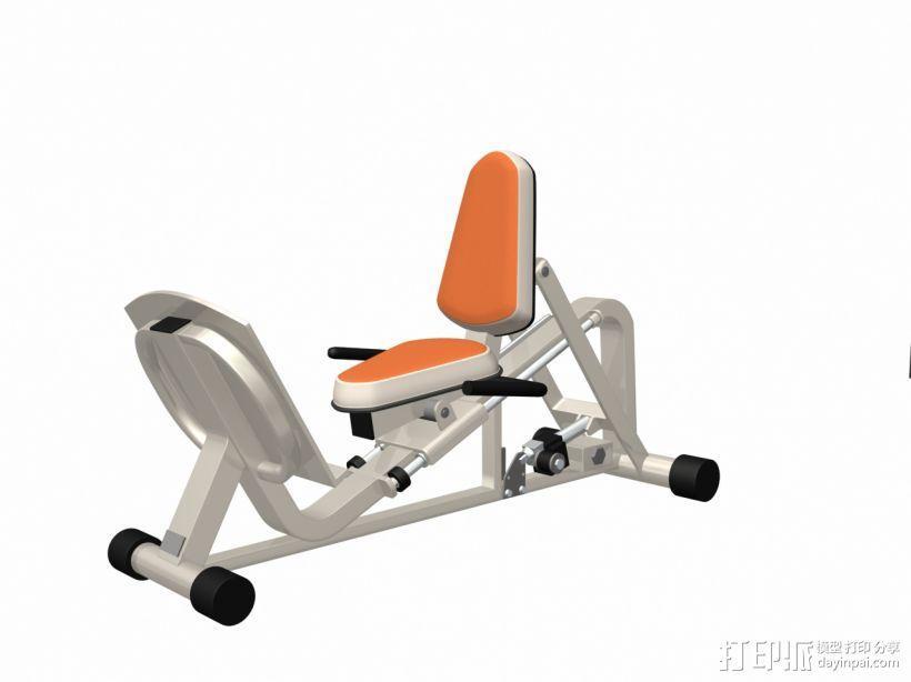 健身器材9 3D模型  图1