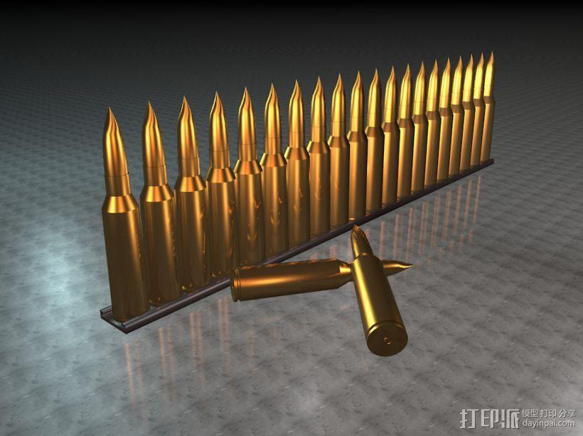 子弹 3D模型  图1
