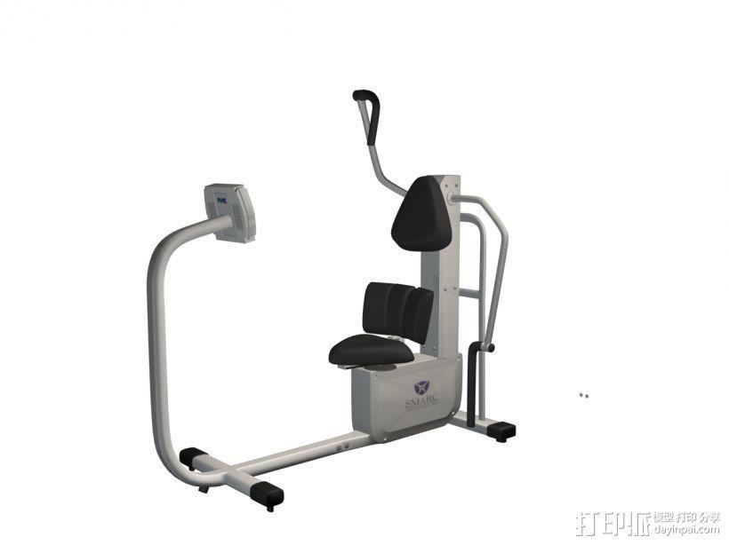 健身1 3D模型  图1