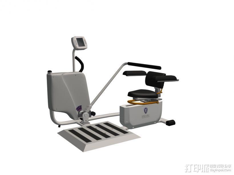 健身3 3D模型  图1