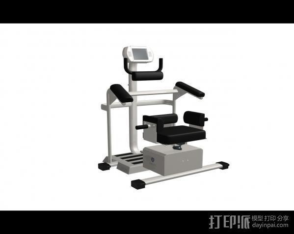 健身4 3D模型  图1