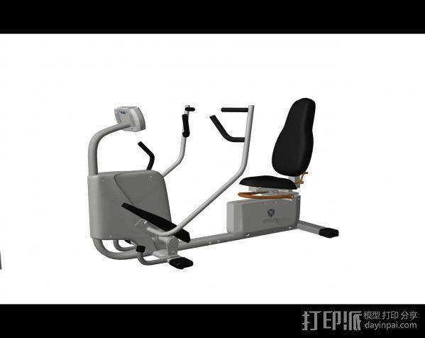健身8 3D模型  图1