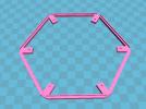 灯罩架 3D模型 图2