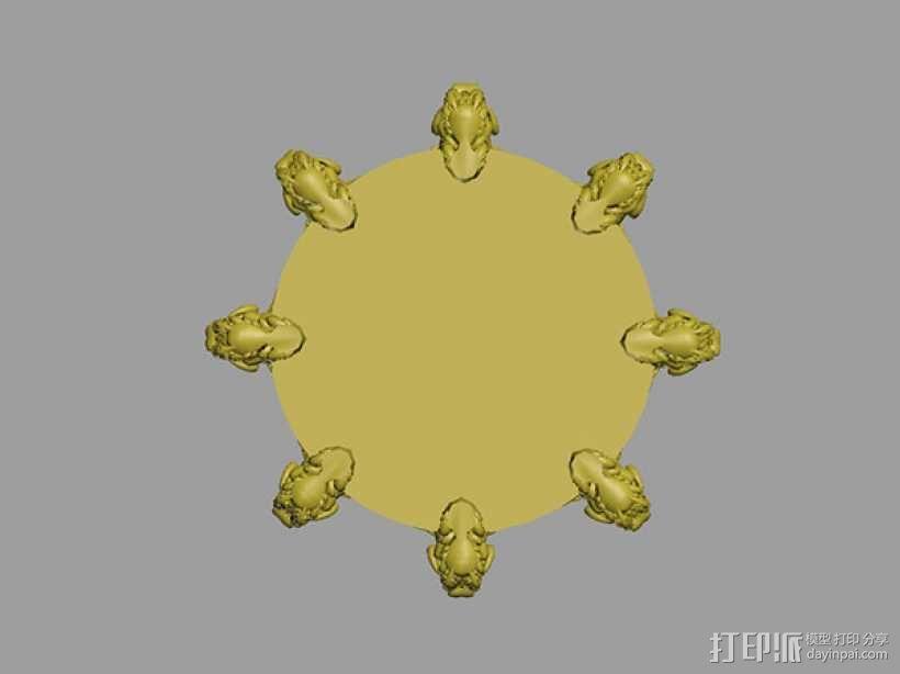 地动仪 3D模型  图4