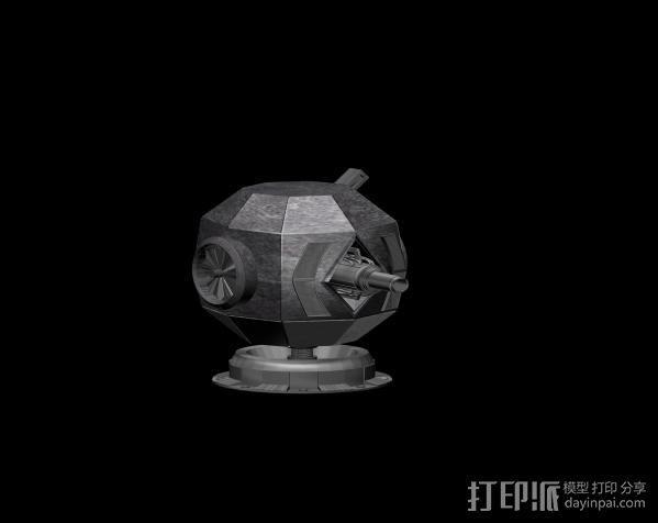 塔 3D模型  图1