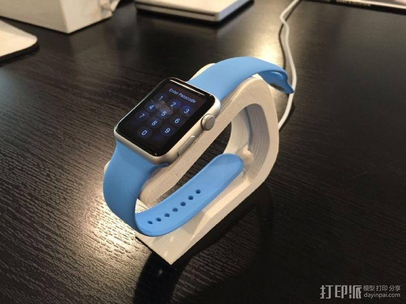 苹果手表Apple Watch  充电座 3D模型  图5