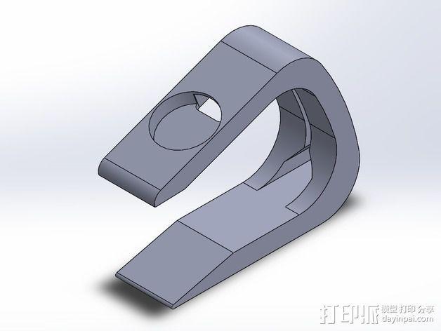 苹果手表Apple Watch  充电座 3D模型  图2