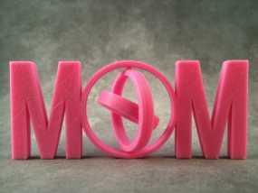 英文MOM 万向节 3D模型