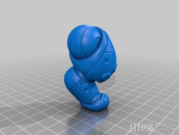 机器猫  3D模型  图1