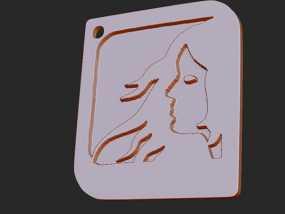 十二星座 系列 之 处女座 3D模型