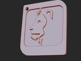 十二星座 系列 之 狮子座 3D模型