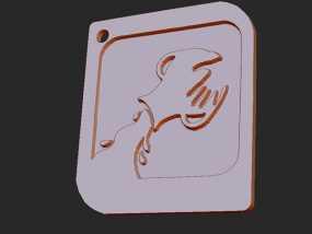 十二星座 系列 之 水瓶座 3D模型