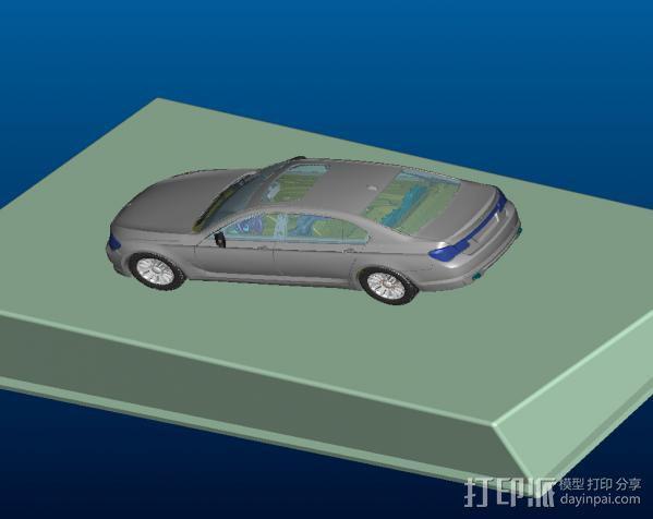 车内摆设—BMW-7 3D模型  图2