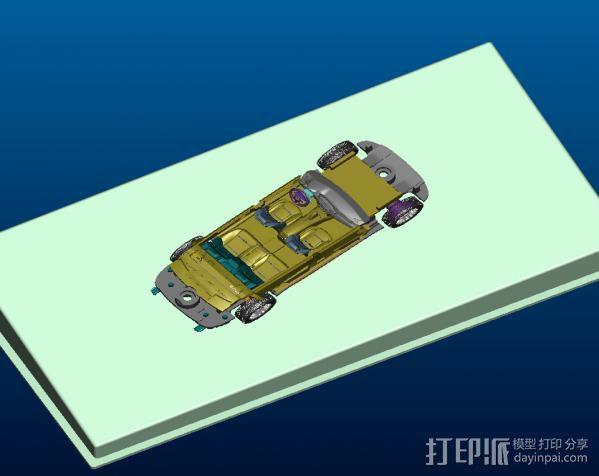 车内摆设—BMW-7 3D模型  图3