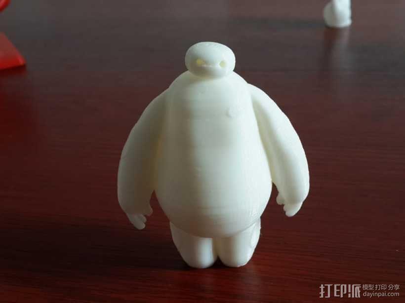 萌娃 big hero 大白 Baymax 3D打印制作  图5