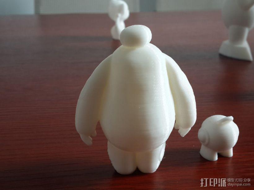 萌娃 big hero 大白 Baymax 3D打印制作  图2