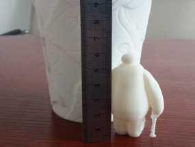 萌娃 big hero 大白 Baymax 3D打印制作