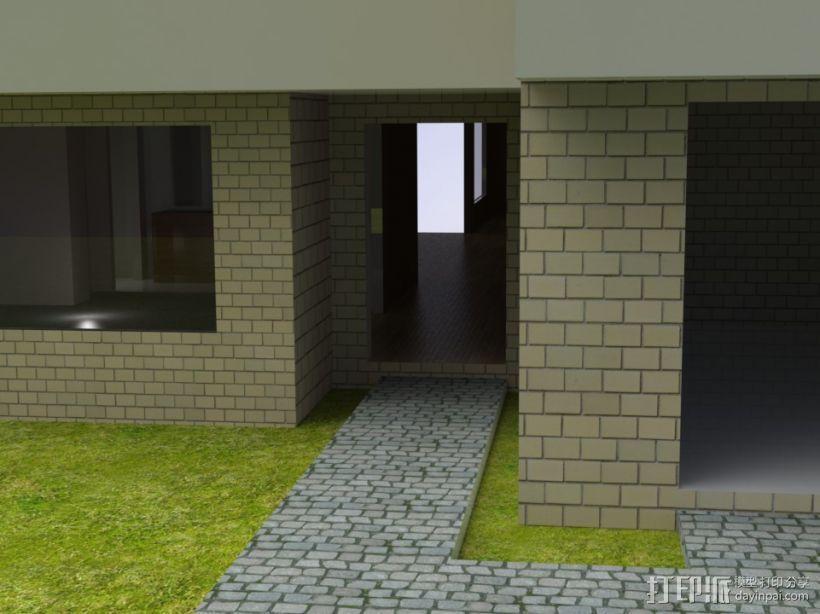 别墅模型 3D模型  图2
