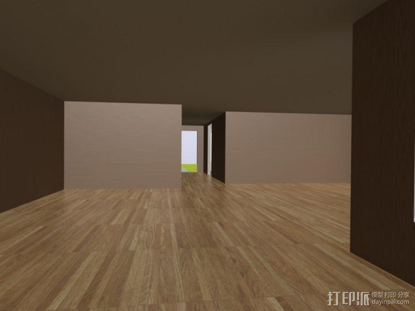 别墅模型 3D模型  图3