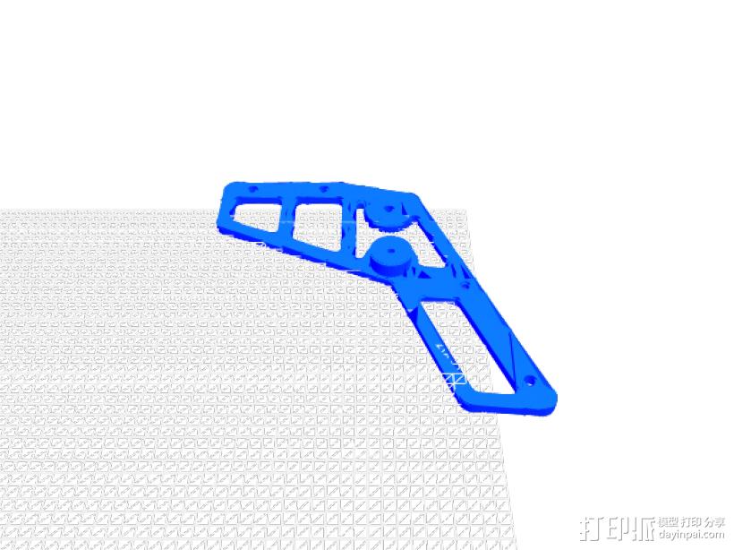 橡筋枪 3D模型  图4