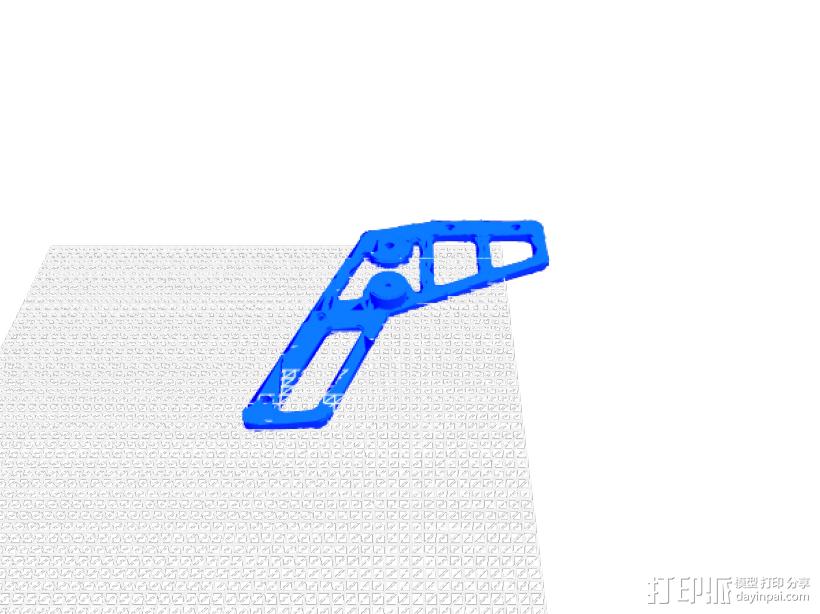 橡筋枪 3D模型  图5
