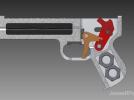 橡筋枪 3D模型 图1