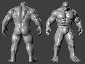 复仇者联盟 绿巨人浩克 Hulk  3D模型