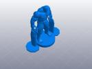 复仇者联盟 绿巨人浩克 Hulk  3D模型 图2
