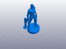 复仇者联盟 鹰眼 Hawkeye  3D模型 图2