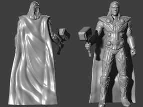 复仇者联盟 雷神 托尔 3D模型