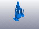 复仇者联盟 黑寡妇 3D模型 图2