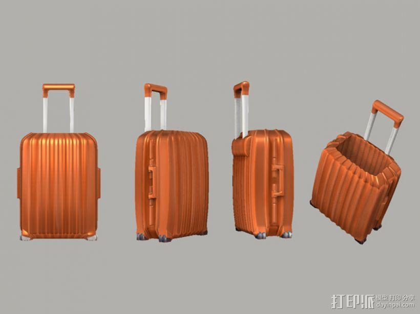 行李箱笔筒 3D模型  图5
