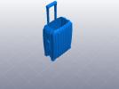 行李箱笔筒 3D模型 图6