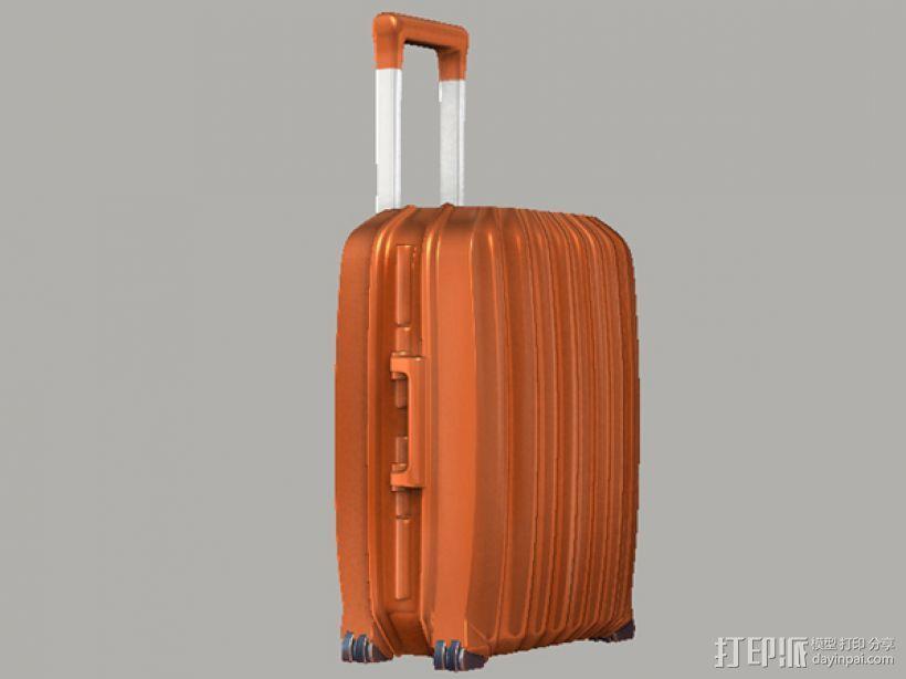 行李箱笔筒 3D模型  图2