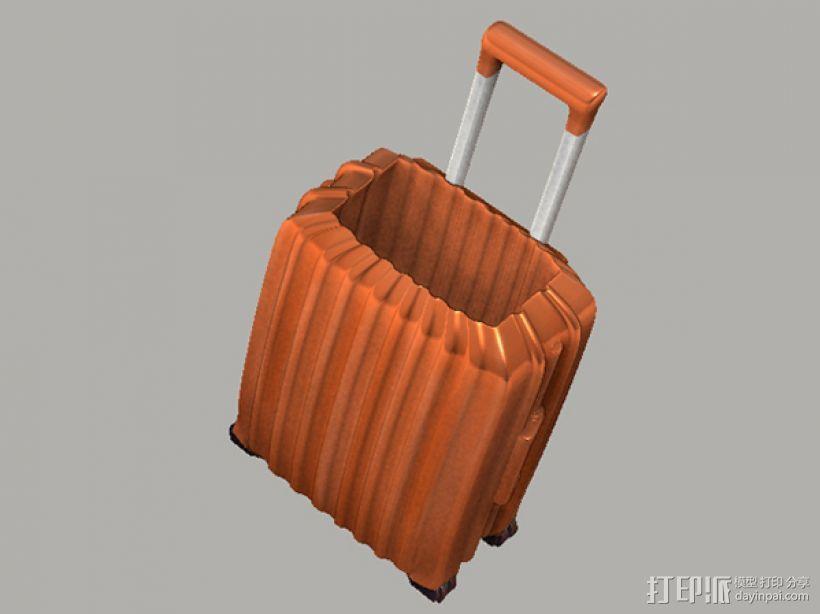 行李箱笔筒 3D模型  图4
