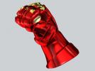 机甲手笔筒 3D模型 图4