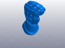 机甲手笔筒 3D模型 图6