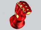机甲手笔筒 3D模型 图3