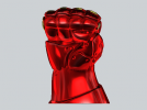 机甲手笔筒 3D模型 图2