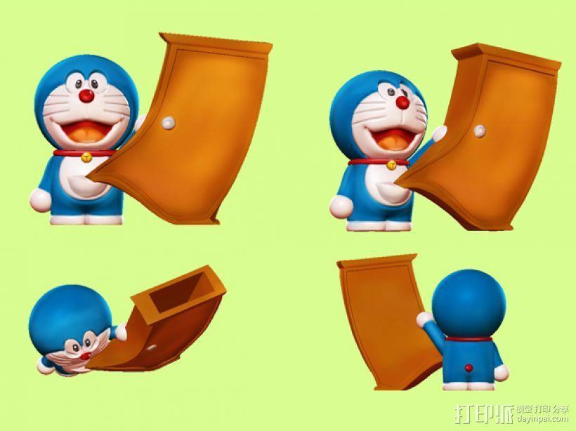 神奇的哆啦A梦 3D模型  图5