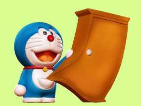 神奇的哆啦A梦 3D模型