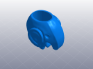 小象笔筒 3D模型 图6