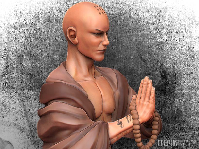 黑暗西游记系列之唐玄奘 3D模型  图2