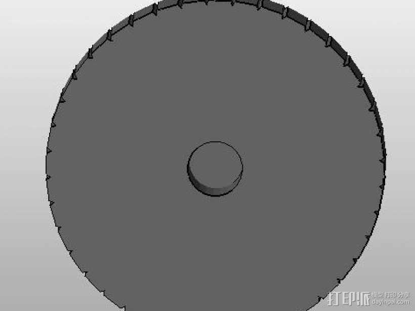 12846LCD 圆孔旋扭 3D模型  图2